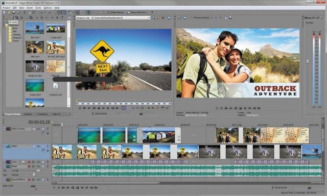 Vegas Movie Studio setup download