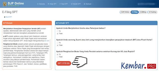 DJP Online eFiling; Cara Registrasi dan Lapor Pajak SPT Tahunan Online