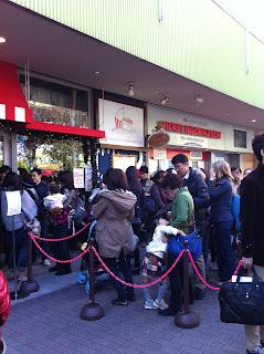 [Tokyo Winter 2011] 後樂園- Moomin Cafe