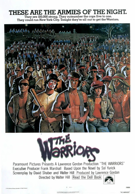 Póster original película The Warriors