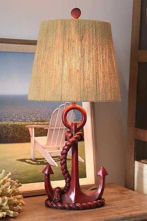 Nautical Anchor Table Lamp