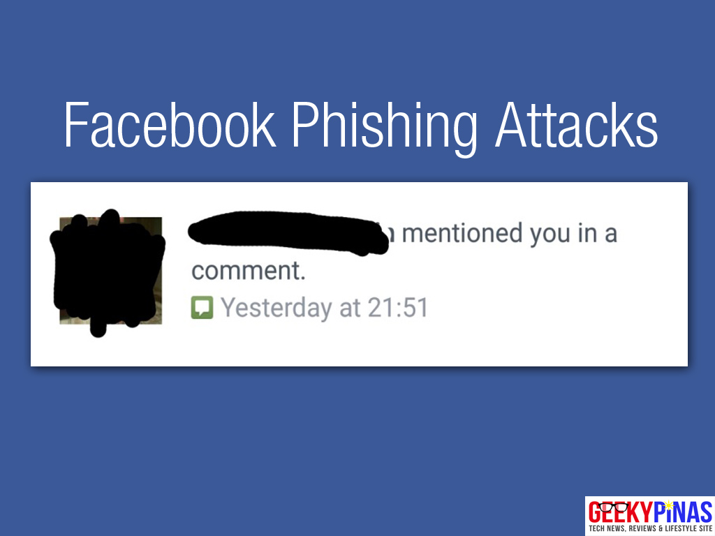 Facebook Phishing Attacks