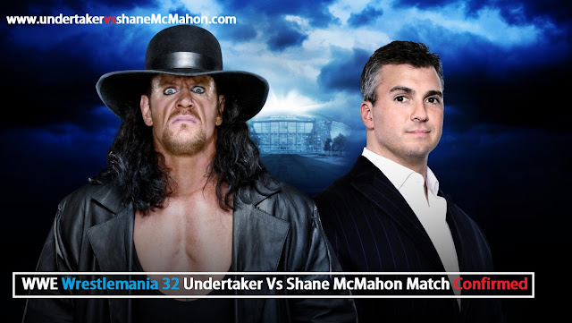 Wrestlemania 32 Undertaker Vs Shane McMahon