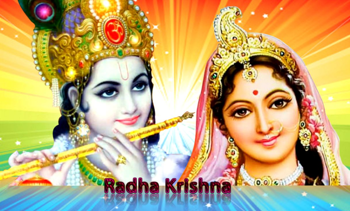 Lord Krishna With Radha Wallpapers | Wallpapers Themes