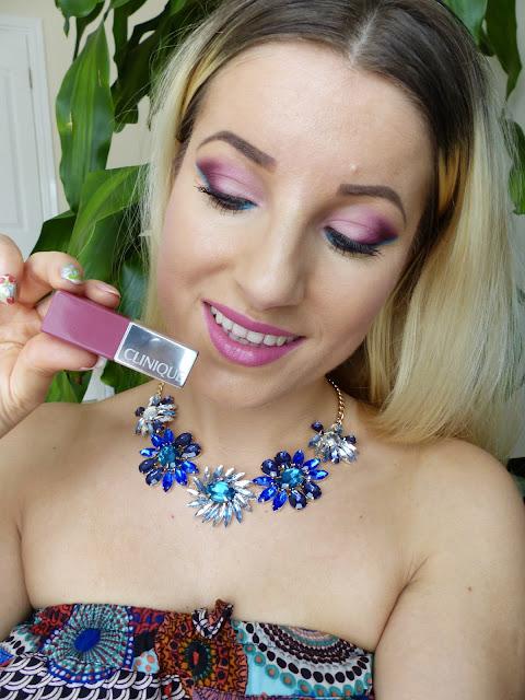 Summer Makeup ! Makijaż Makeup Revolution z Turkusową kreską