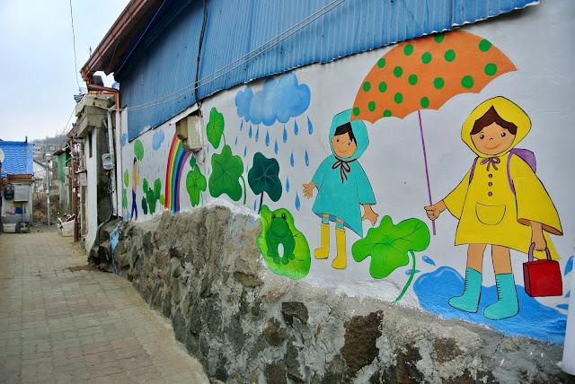 street art korea cheongju suamgol village