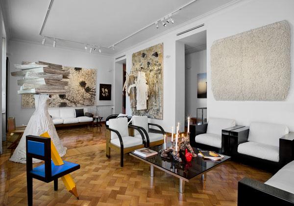 4bildcasa case di milano for Foto di case arredate classiche