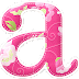 Precioso Alfabeto Rosa con Flores.