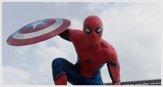 Captain America : Civil War - Spider Man