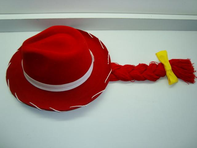 Disfraz casero de Jessie de Toy story b1bab583395