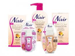 The Abcd Diaries Nair Brazilian Spa Clay And Face Roll On Hair