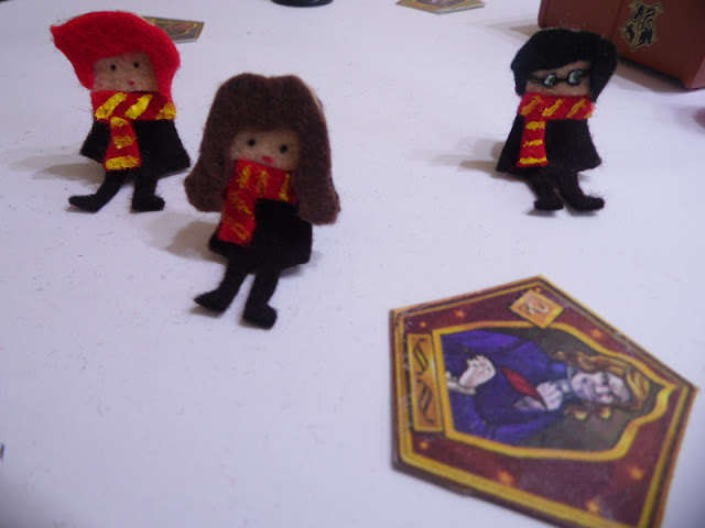 Toppers para lápices con los personajes de Harry Potter