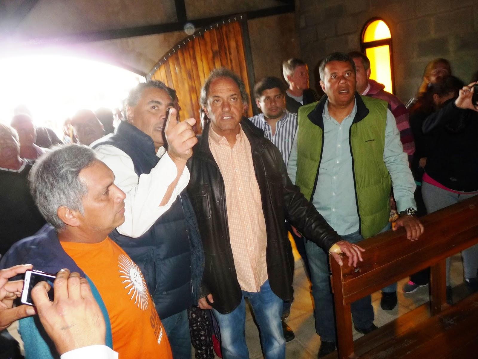 Prensa Municipalidad Jos C Paz Scioli Visito El Parque