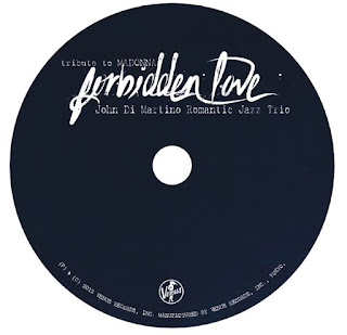 """Forbidden Love - tribute to Madonna"" - CD Sticker Artwork by MPAP 2016"