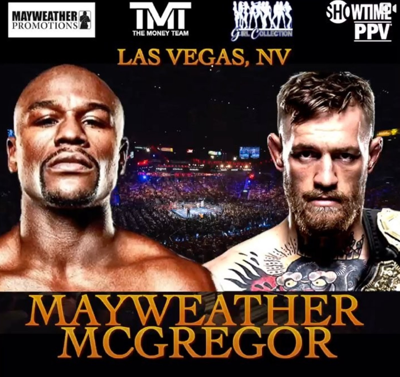 FLOYD MAYWEATHER VS. CONOR MCGREGOR 2