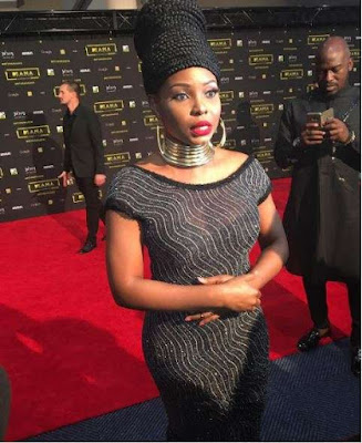 Yemi Alade at the 2016 MAMA Awards