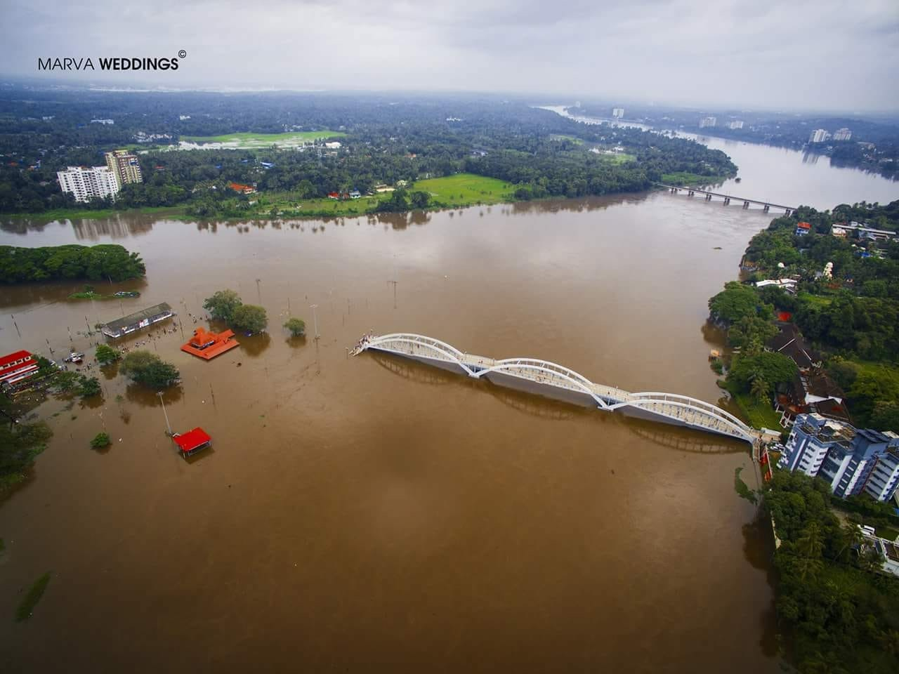 Aluva Bridge,river periyar floods,Aluva neerattu, Aluva floods, kerala monsoon floods