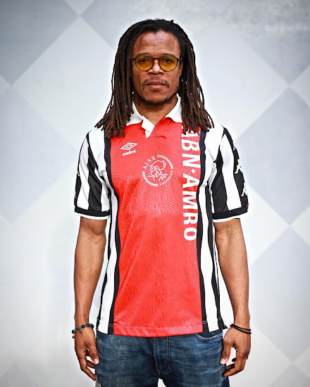 e6c92980a Champions League Matchup Upcoming  Edgar Davids Receives Ajax x ...