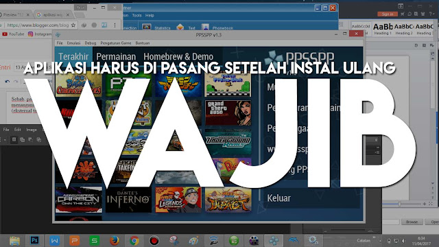 13 Aplikasi Wajib Setelah Melakukan Install Ulang OS Windows!