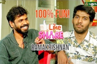 Pappu Making Fun with Actor Ramakrishnan! | LIKE & SHARE | Puthuyugam Tv