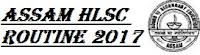 Assam HSLC Exam Routine @sebaonline.org
