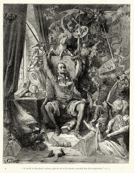 Gustave Doré DOn quichotte