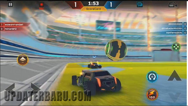 Game turbo League Soccer car terbaru