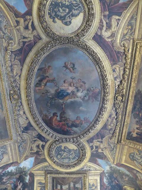 plafond château de versailles