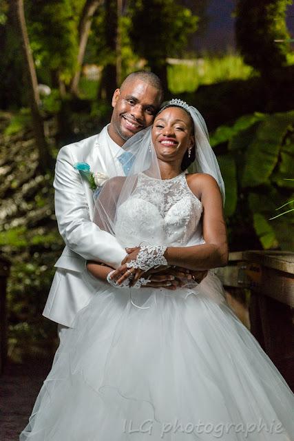 mariage Guadeloupe portrait des mariés