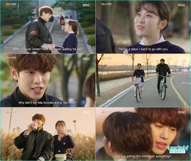 nan hee wanted to meet with se gun for the last time they did bicycling - Queen of the Ring: Episode 3 Review (Three Color Fantasy)