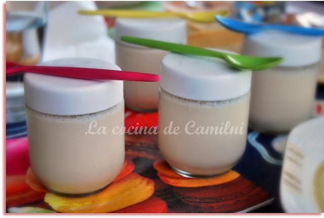 Yogur a la canela y limón (La cocina de Camilni)