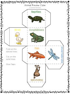 Make the vertebrate classes engaging with these free review activities and lesson plan!  Check it out now on Classroom Freebies Too!