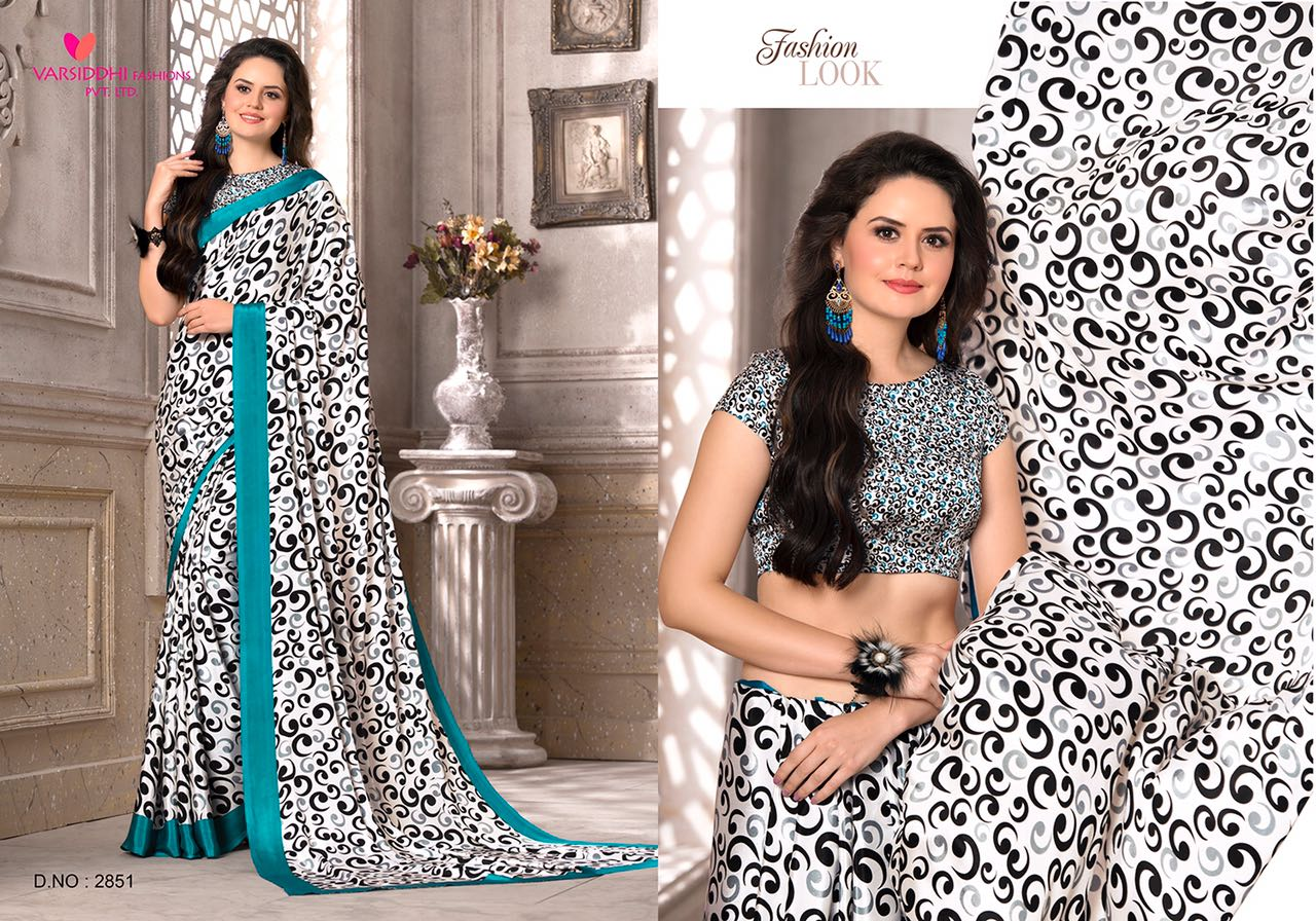 Varsidhi 2851-2859 – Latest Casual Wear Printed Saree Wholesale