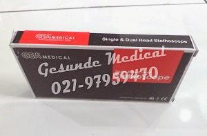 spesifikasi stetoskop gea spek