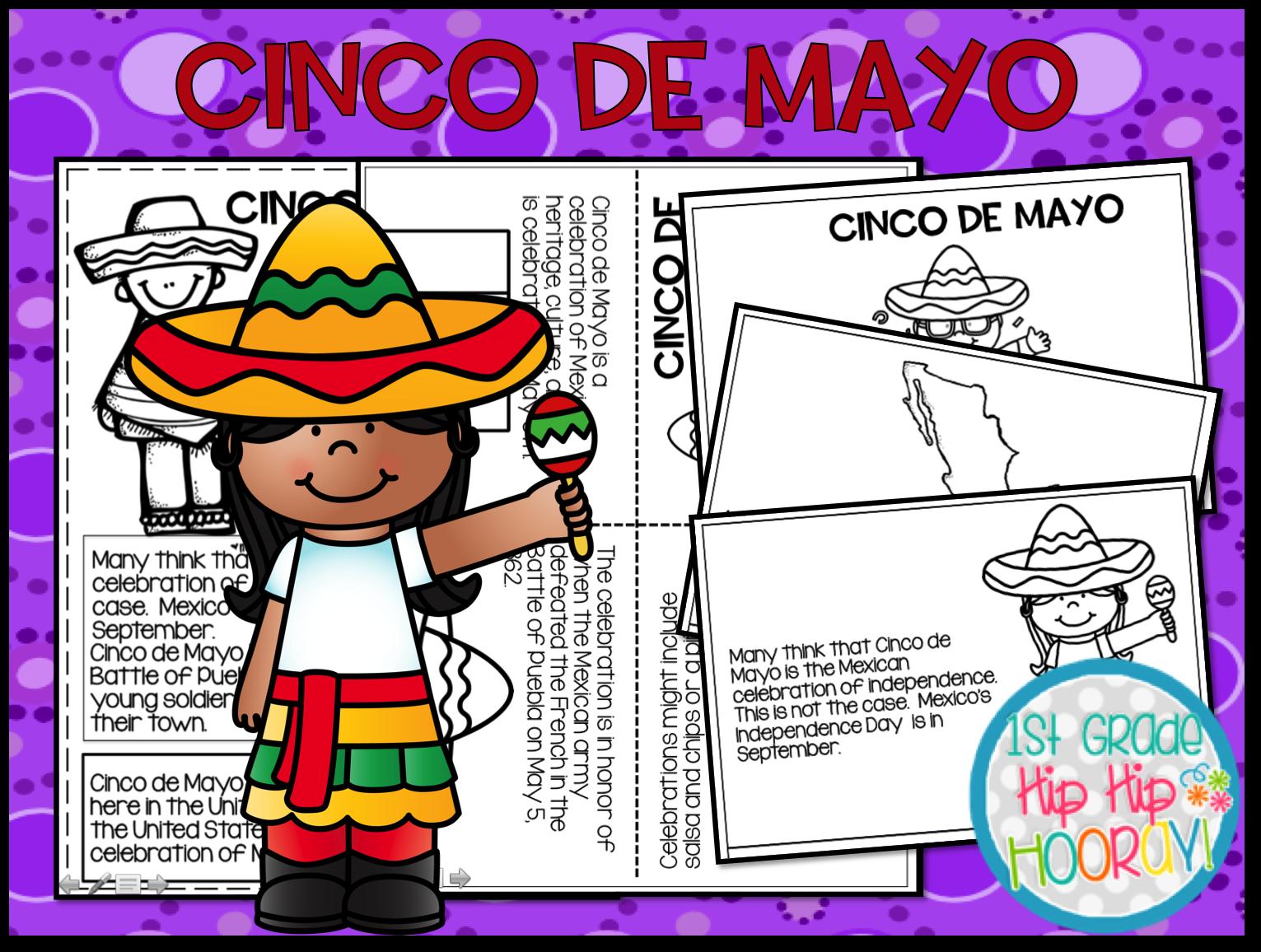 1st Grade Hip Hip Hooray Cinco De Mayo Y 5th
