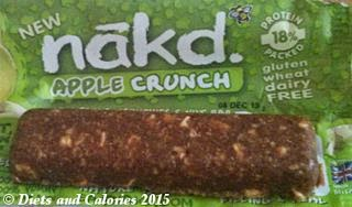 Nakd Crunch Apple soya protein bar