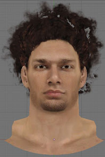 NBA 2K13 Robin Lopez Cyberface Patch