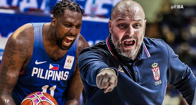 Serbia Coach Aleksandar Djordjevic REACTS to Gilas Pilipinas Team