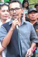 Gandeng Feri, Lutfi Tutup Turnamen Bola di Rasalewi Kelurahan Jatibaru