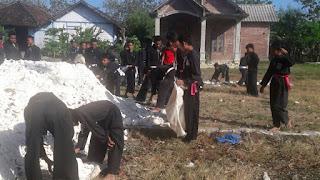 Rukan Bhabinkamtibmas Desa Megale Digeruduk Anggota Perguruan Silat