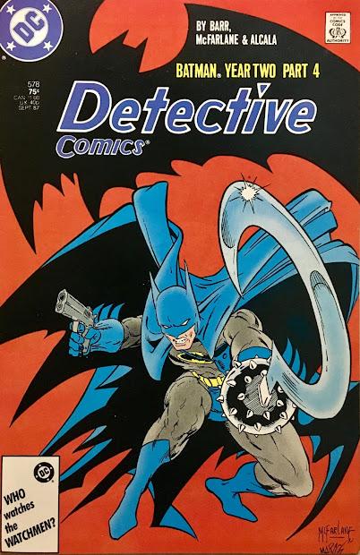 Chris Infinite Earths Detective Comics #578 1987