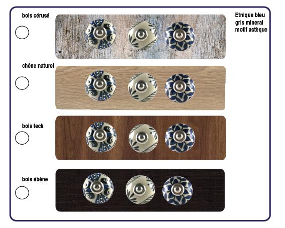 boutons de titroirs boho chic