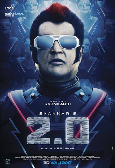 Rajinikanth First Look And Images In 2.0 Film, 2.0 Film First Look, Images & Wallpapers