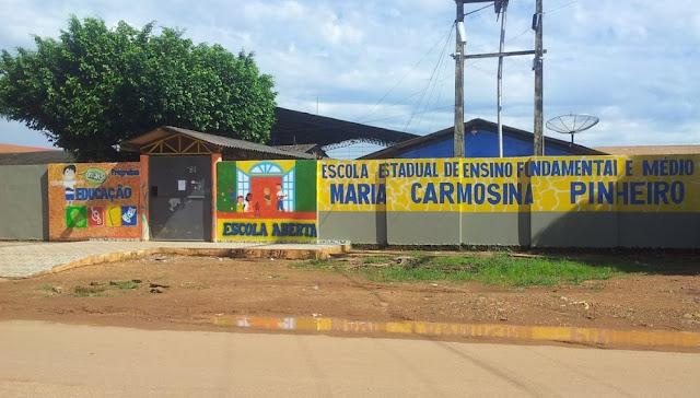 Escola é invadida pela 13ª vez este ano e tem 15 centrais de ar furtadas em Porto Velho