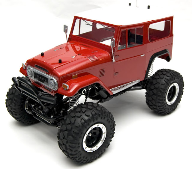 Tamiya Toyota Land Cruiser CR-01 kit building