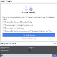 Cara Menambahkan Kontak Pewaris ke Akun Facebook