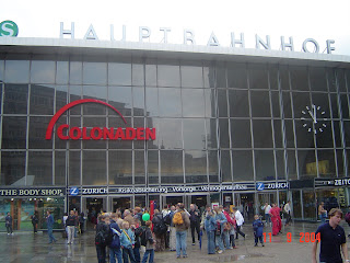 Cologne hauptbahnhof / station germany travel