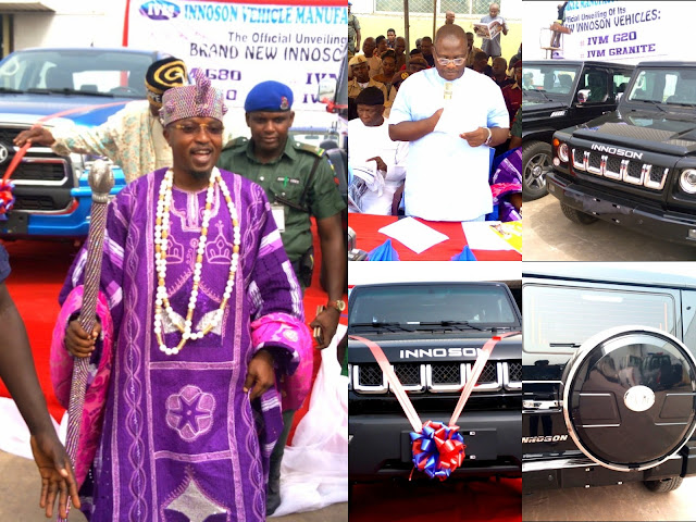 Photos from the official unveiling of new brands of Innoson SUVs in Nnewi