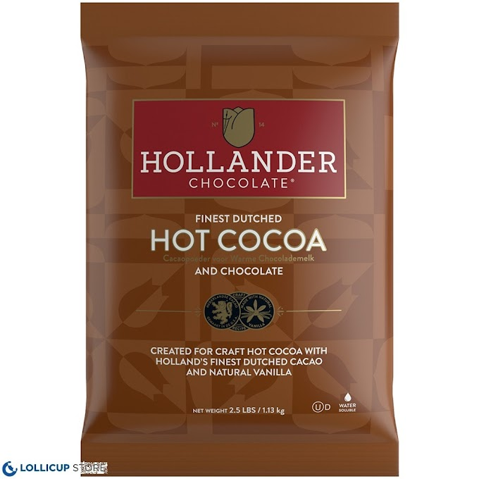 Get 15% off on Hollander's hot cocoa