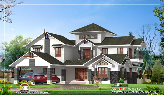 Luxury Home Design 270 Sq. M. (2910 sq. ft.) February 2012
